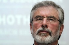 Gerry Adams has been warned of another death threat