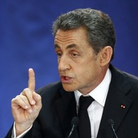 Nicolas Sarkozy is back in the driving seat of his old political party