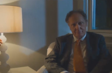 TV3's swanky new ad features a brilliantly creepy shot of Vincent Browne