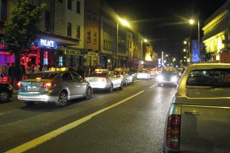 Camden Steet, Dublin at night. (File photo)