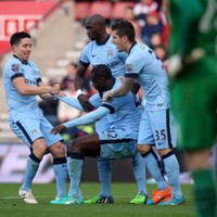 Yaya Toure definitely deserves a cake after this fine goal against Southampton