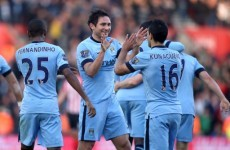 Clinical Man City wallop Southampton at St Mary's