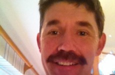 Padraig Harrington's Movember effort is fairly spectacular