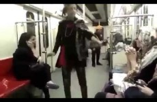 Iranian girl protests strict hijab laws by breakdancing on Tehran subway