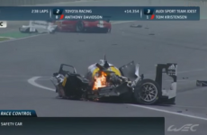 Mark Webber 'awake and alert' after this terrifying 300km/h crash in Brazil