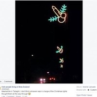 No, the Christmas lights in Tallaght aren't 'penis-shaped'
