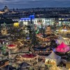 Check out this gorgeous photo of Galway Christmas Market