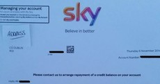 That 'we owe you money' letter from Sky? It's NOT a scam