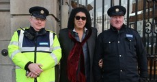 What was Gene Simmons from Kiss doing at Leinster House?
