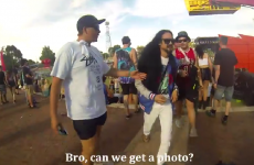 Man who looks like famous DJ trolls entire music festival