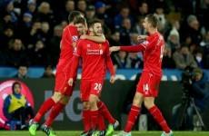 Despite Mignolet's best efforts, Liverpool beat Leicester with help from Steven Gerrard