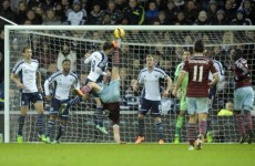 'Andy Carroll assists with bicycle kick' is definitely the most unexpected headline of the night
