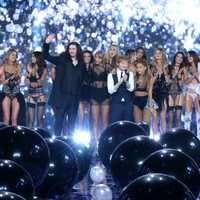 Pics: Hozier with Taylor Swift and Ed Sheeran at the Victoria's Secret Fashion Show