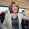 The dole queue has shrunk to a post-recession low... And Joan Burton's happy