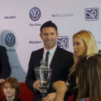 Robbie Keane was named the MLS Most Valuable Player last night