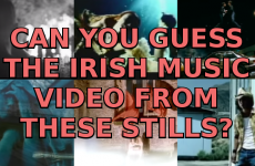 Can You Guess The Irish Music Video From One Picture?