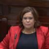Sinn Féin has complained about 'defamatory allegations' from Joan Burton