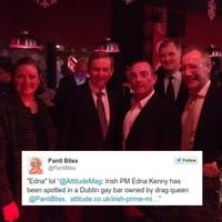Enda Kenny called 'Edna' by British gay lifestyle magazine
