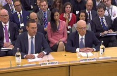 Rupert and James Murdoch: What they said