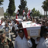 Syrian forces open fire on funeral procession