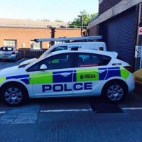 There's a subtle yet important mistake on this police car