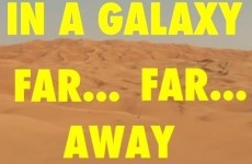 Here is what the Star Wars trailer would look like if it was directed by Wes Anderson