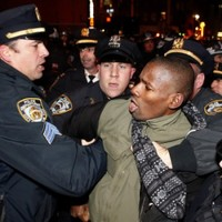 """I can't breathe"": New York protesters shout Eric Garner's final words"