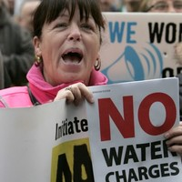 Lots of people say they won't pay their water charges