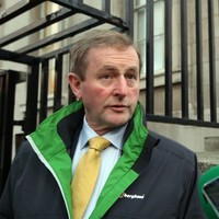 Enda Kenny was on the streets talking to homeless people last night
