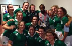 Ireland women win the Dubai 7s invitational