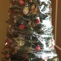 Real Christmas tree v fake Christmas tree - we decide