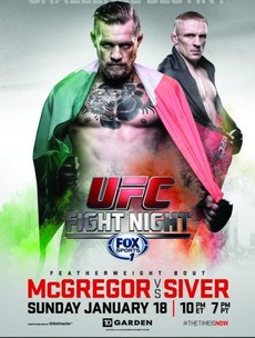 This official UFC poster will have you pumped for McGregor's upcoming fight