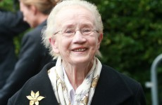 Justice Catherine McGuinness was approached to run for president...but she wasn't interested