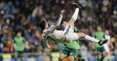 Ronaldo sets a new record with 23rd hat-trick in La Liga, but his dive had Twitter fuming last night