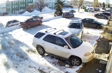 Worst driver ever takes a good four minutes to leave parking space