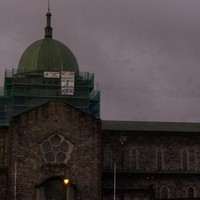 Pro-choice group put banner advertising abortion pills on Galway Cathedral