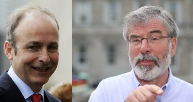 Sinn Féin and Fianna Fáil are both ruling out coalition with each other