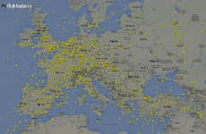 Mesmerising video shows all of the flights over Ireland in 38 hours