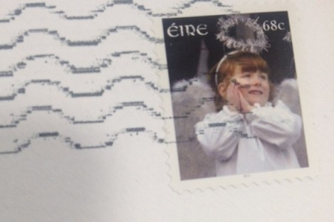 An Post stamp