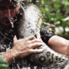 Scientist offers to be eaten by anaconda, freaks out right before it