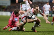 His face fits at Ulster anyway - Darren Cave is sticking around Ravenhill for a few more years