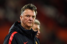 'He had no confidence' - Van Gaal on why he withdrew Paddy McNair before half-time