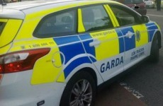 Two gardaí injured after joyriders smash into patrol car