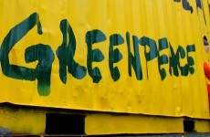 Greenpeace prevented from posting protest pictures on Twitter and Facebook