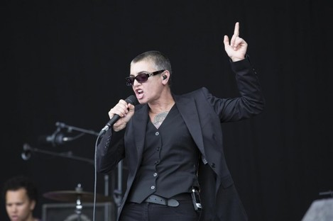 Sinead O'Connor performing at Electric Picnic last August