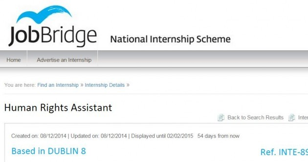 Gardaí defend hiring 16 JobBridge interns for €1.25 an hour
