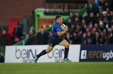 Leinster confirm that Jimmy Gopperth is talking to other clubs ahead of next season
