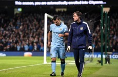 'Our team does not depend on one player' - Pellegrini bullish as Aguero out until New Year