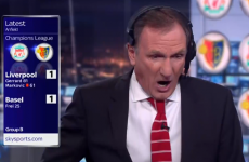 'It's gone the wrong way…': Thommo had a rollercoaster 10 minutes watching Liverpool last night
