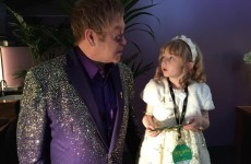 Elton John met Lily Mae and dedicated Tiny Dancer to her during his concert last night